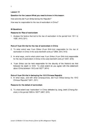 Lesson 13 Modern Chinese History.pdf