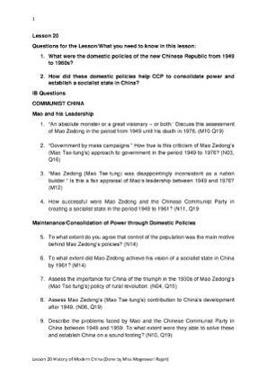 Lesson 20 Modern Chinese History.pdf