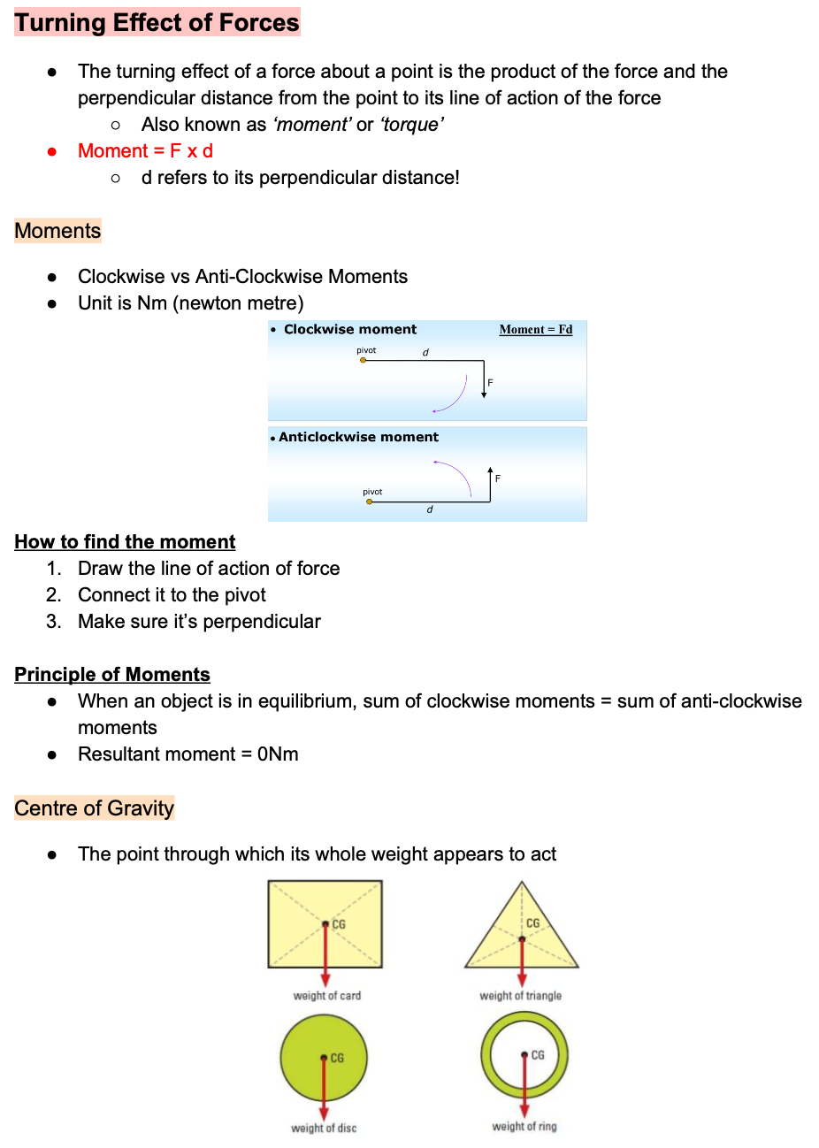 RGS Sec 3 Physics Notes (Ashley & Vivien)