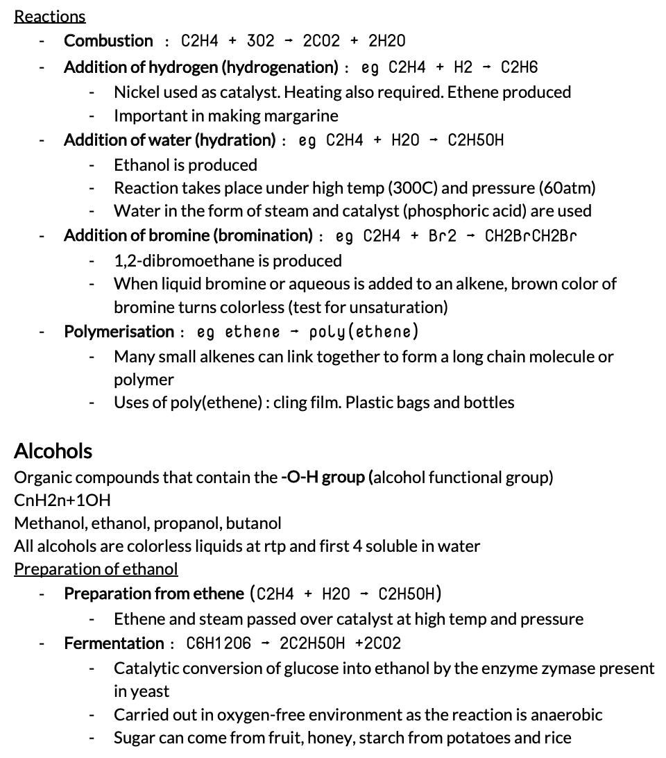 RI Sec 4 Chem Notes (Compiled)