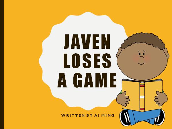 Social Storybook: Javen Loses a Game