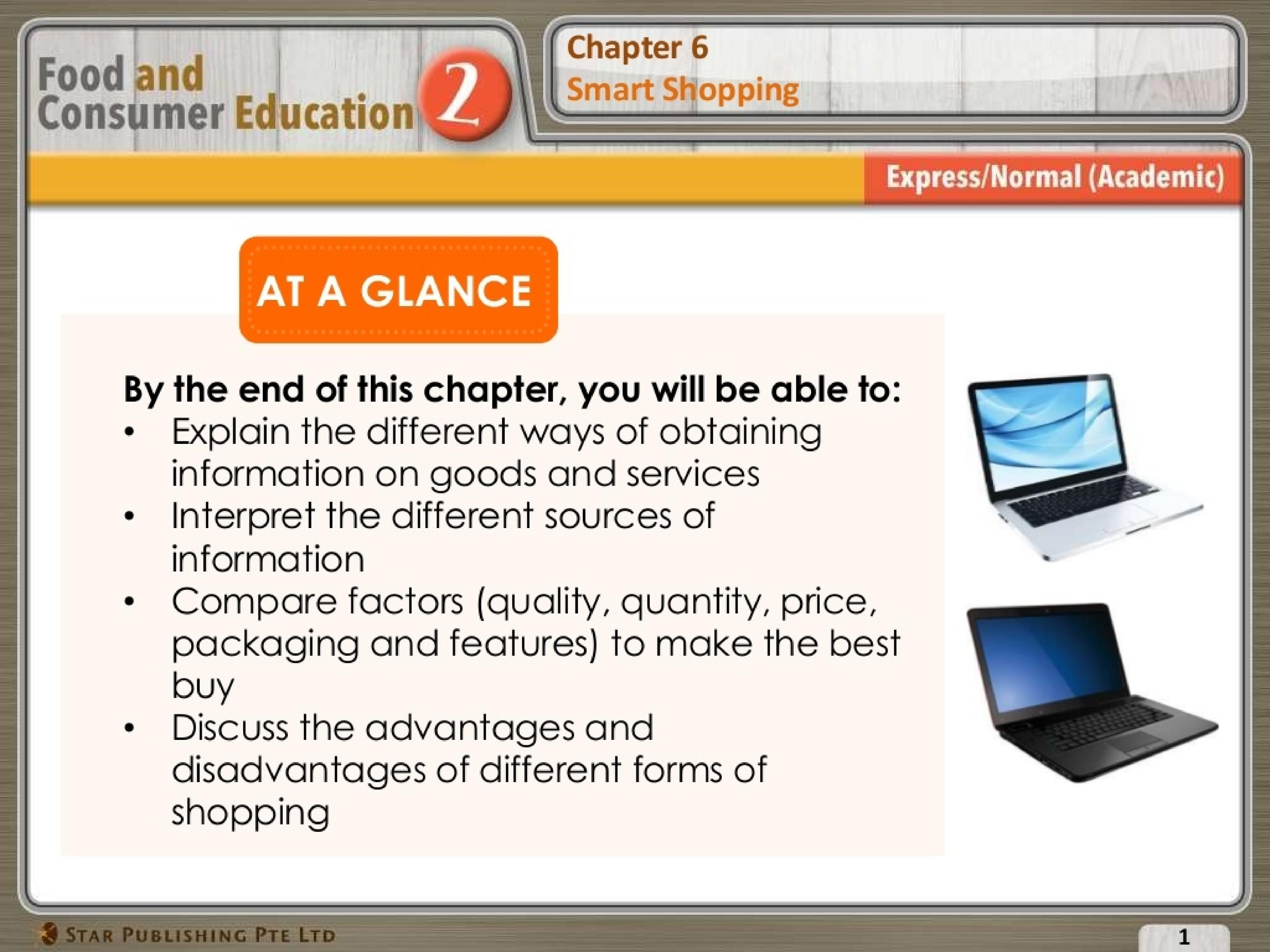 (Sec 2 FCE) Smart Shopping