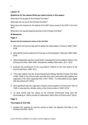 Lesson 19 Modern Chinese History.pdf