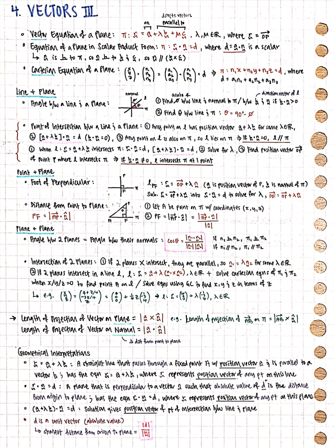RI H2 Pure Math Notes 2020 (Compiled)